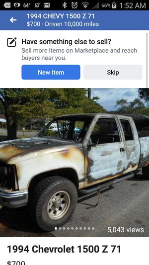 1994 GMC SIERRA 4X4 BODY FOR PARTS for Sale in Euharlee, GA