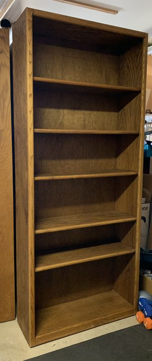 Oak Book Cases with Adjustable Shelves for Sale in San Diego, CA