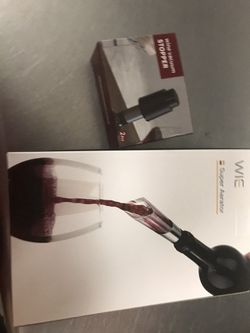Wine Vacuum Stopper And Wine Saver Set for Sale in Cherry Hill,  NJ