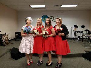 Ladies swing dresses, crinoline, shoes for Sale in Fredericksburg, VA
