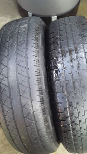 2 Used Tires 205/75R15 for TRAILER for Sale in Bakersfield, CA