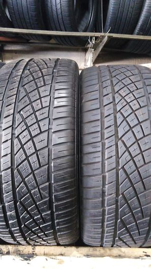 Two continental tires for sale 245/40/19 for Sale in Washington, DC