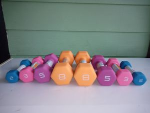 New !! CAP dumbbell sets weights for Sale in Edcouch, TX