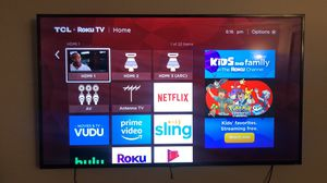 65 inch TCL Roku smart tv for Sale in Fall River, MA