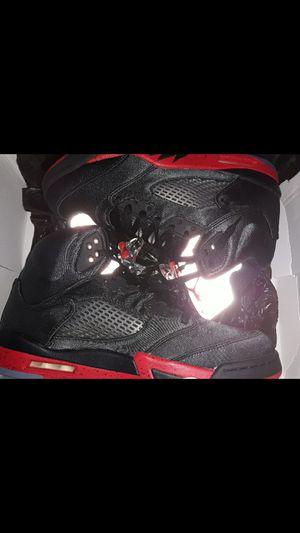 NIB Authentic Men Jordan 5 Satin Bred Size 10 1/2 for Sale in Staten Island, NY