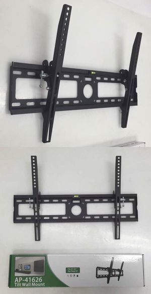 New in box 32 to 65 inches tilt tilting tv television wall mount bracket flat screen plasma 88 lbs capacity soporte de tv for Sale in La Mirada, CA