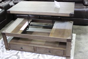 Lift Up Coffee Table, Greyish Brown for Sale in Downey, CA