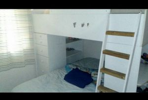 Wooden Twin size Bunk bed for Sale in Goodyear, AZ