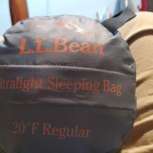 L.L.Bean ultralight Sleeping Bag 20F Regular for Sale in Glendale, AZ