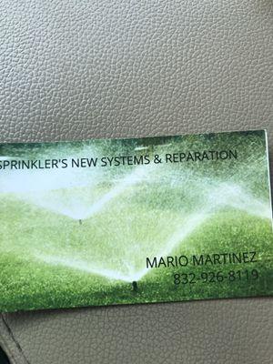 Sprinklers for Sale in Houston, TX