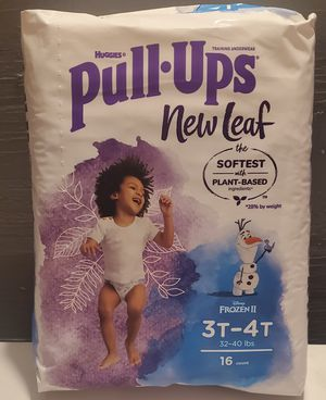 Huggies pull ups Boy's size 3T - 4T for Sale in Mesa, AZ