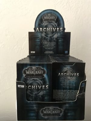 "World Of Warcraft Set ""Archives""238 Cards Missing 2 Cards Great Condition All For $40 for Sale in Reedley, CA"