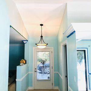 GORGEOUS BRONZED HAMILTON CHANDELIER RETAILS FOR $285 for Sale in Palm City, FL