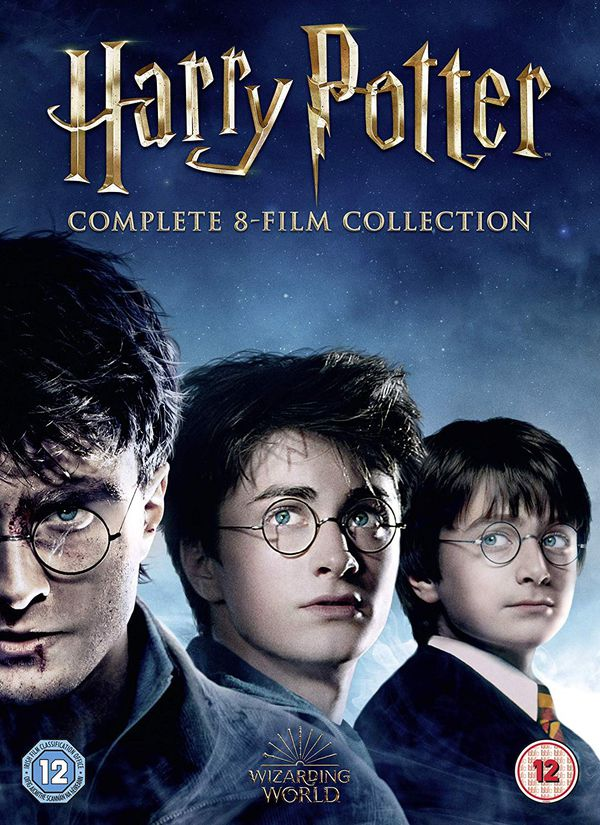 ALL 8 HARRY POTTER MOVIES DIGITAL