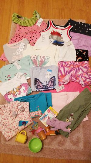 Baby girl s 18-24mths 16 piece clothing lot and more for Sale in FL, US