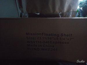 Black Mission Floating Shelves. for Sale in Winter Garden, FL