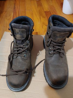 Wolverine Steel Toe work boots mens 9 -1/2 Extra Wide, waterproof, oil resistant and slip resistant for Sale in Tampa, FL