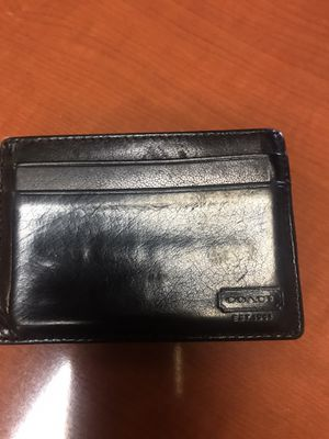 Coach money clip card case for Sale in Palm Springs, CA