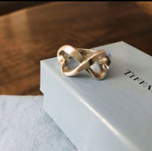 Tiffany & Co Paloma Picasso Double Heart Ring for Sale in Washington, DC