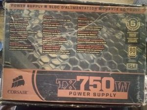 Enthusiast Series TX750 — 80 PLUS Certified Power Supply for Sale in Sherwood, AR
