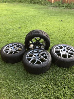 Acura TL Type S waffle Rims OEM Like New for Sale in Wilmington, NC