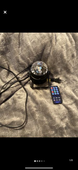 RBG disco ball for Sale in Hayward, CA
