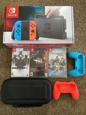 Nintendo Switch with 3 Games almost Brand New for Sale in Bremerton, WA