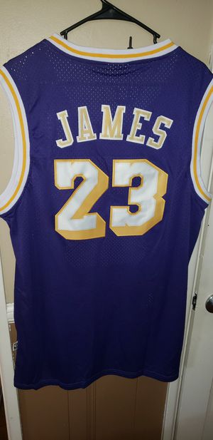 New Men's XL LeBron James Los Angeles Lakers Jersey New with Tags Stiched Adidas $45. Ships +$3. Pick up in West Covina for Sale in West Covina, CA