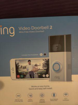 Ring 2 Video Doorbell for Sale in Chandler, AZ