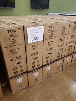 """TCL 75"""" 4k UHD Roku TV for Sale in El Monte, CA"""