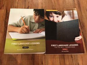 First language lessons level 2 and 3 for Sale in Corona, CA