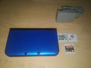 Nintendo 3ds with games and charger for Sale in Germantown, MD