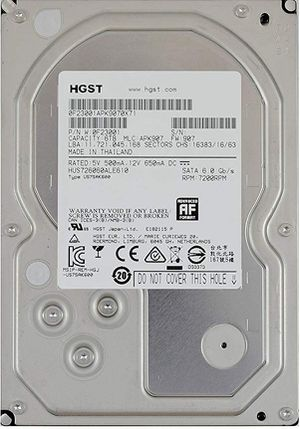 6TB HDD, 7200rpm for Sale in Ballston Spa, NY