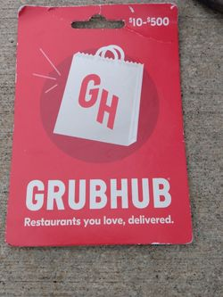 GrubHub Gc for Sale in Portland,  OR