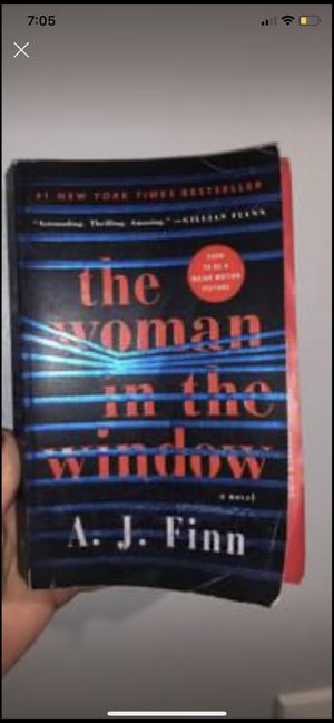 The woman in the window thriller book for Sale in Murfreesboro, TN