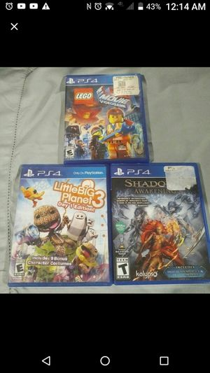 Ps4 Game Lot! for Sale in US