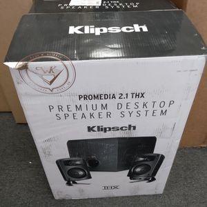 Klipsch Premium Desktop Speaker System for Sale in El Cajon, CA