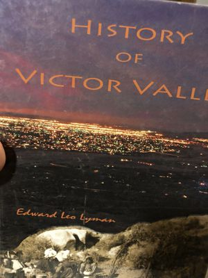 Big victor valley book for Sale in Apple Valley, CA