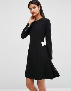 Ted baker emorly white side bow black dress for Sale in Herndon, VA