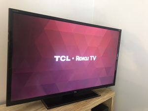 """32"""" TCL Roku TV with remote for Sale in Charlotte, NC"""