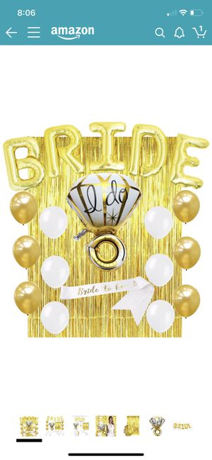 Bride balloon set new for Sale in Riverside, CA