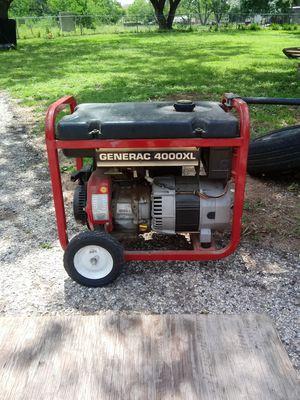 Genarec 4000w generator for Sale in Elmendorf, TX