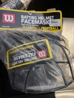 Wilson batting helmet facemask for Sale in Moreno Valley, CA