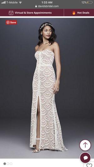 Lace wedding dress for Sale in Rialto, CA