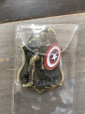 Captain America challenge coin for Sale in Boynton Beach, FL