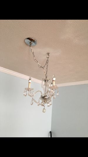 Chandelier 3 light for Sale in Pittsburgh, PA