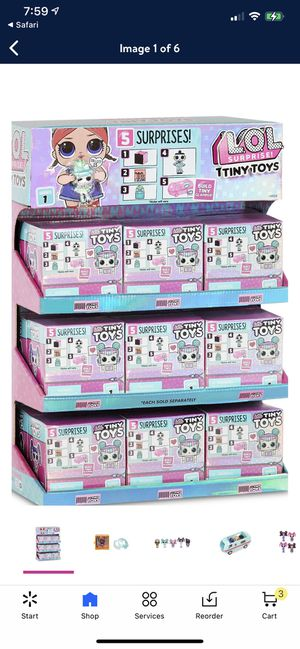 L.O.L. Surprise! Tiny Toys - Collect to build a Tiny Glamper. This is a complete set of # 1-18 for Sale in El Monte, CA