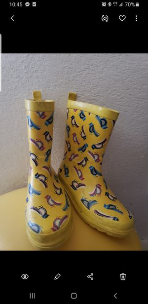 Rain boots size 10 for Sale in San Antonio, TX