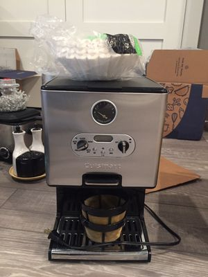 Cuisinart electric 1 cup coffee maker for Sale in Fairfax, VA