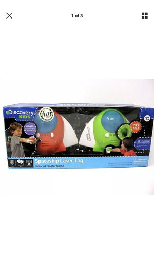 Discovery Kids Spaceship Laser Tag shooting game! for Sale in Norfolk, VA